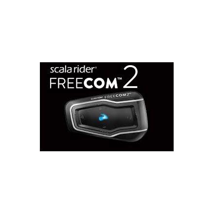 Intercomunicador Cardo Scala Rider FreeCom 2 Duo (2 unidades emparejadas).