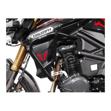 SW-MOTECH - Protecciones laterales de motor Acero inoxidable. Tiger 1200 Explorer (11-15)